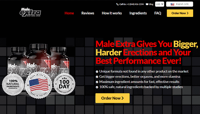 male extra canada official website